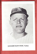 1967 Yankees Team Issued 5 X 7 Set Of 12 Mantle  Nm/mt-mint