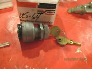 Universal -tractor-marine--2 Term.-brass/stainless-- Ignition Switch And Keys