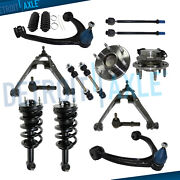16pc Front Struts Control Arm Wheel Hub And Bearing Tierod Kit Chevy Tahoe Gmc 2wd
