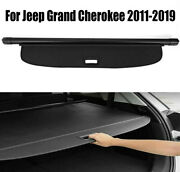 For 2011-2019 Jeep Grand Cherokee Cargo Cover Oem Luggage Shield Upgrade Trunk