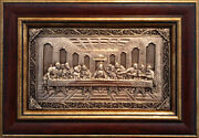 Handmade Metal Picture Andquotlast Supperandquot Electroplating
