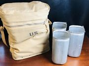 Us Military Insulated Surplus Jerry Can Bag Canvas Water Carry Cooler Army Cans