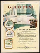 Vintage Magazine Ad Gold Dust Washing Powder From 1922 Box Picturing The Twins