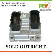 Reman. Oem Engine Control Module For Holden Barina Xc Z14xep Me7 6 1 Oe 0261...