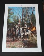 John Paul Strain - From The Line Of Fire - Collectible Civil War Print - Mint