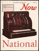 Vintage Magazine Ad National Cash Registers From 1926 Dayton Ohio 2 Page Ready