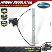 Power Window Regulator With Motor 6-pins For Mazda 6 2003-2008 Front Driver Side