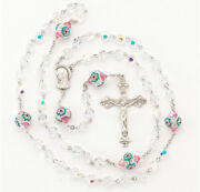 Crystal Sterling Silver Rosary