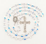 Sterling Silver Crystal Rosary