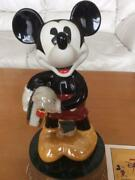 Disneyand039s 75th Anniversary Mickey Mouse World Limited 1000 Figure Ornament Doll