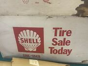 Nos Shell Vintage Tire Advertising
