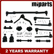 Ball Joint Tie Rod Idler Arm Center Link Kit 14ps Fit For Chevy Camaro 1975-1981