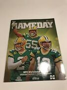 Official 2019 Green Bay Packer Gameday Program Divisional Round Playoff Game