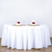 20 Pack 120 Inch Round Tablecloths Wedding Decorations Party Table Covers