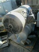 Reliance Electric Motor P32g6532b-g1-gw And Reeves Gear Drive 50hp_1.84-1 Ratio