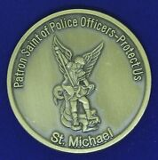 Vermont Police Academy 70th Basic St. Michael Challenge Coin Z-1