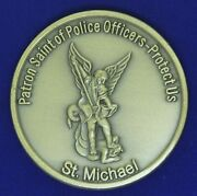 Vermont Police Academy 67th Basic St. Michael Challenge Coin Z-1