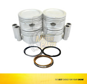 Piston And Ring Set For Gm Chevy Joy Monza Corsa 1.6 L Sohc - Size 040