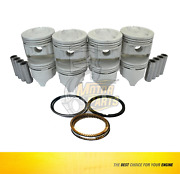 Size Std Piston And Ring For Ford Lincoln Grand Mustang F250 Bronco 5.0 L Ohv
