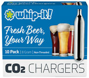 30 Co2 16g Cartridge Non Threaded C02 Soda Keg Beer Charger Tire Inflator