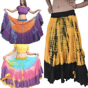 Ats Belly Dance Skirt 25 Yard Tie Dye Wholesale Lot - Choose Quantity And Color