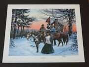 John Paul Strain - The Parting - Hand Signed Print - A.p. Hill - Mint
