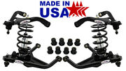 1958-64 Chevy Impala Tubular Control Arm And Coil Over Kit, Stage 3+, Bbc