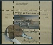 Newfoundland 2009 Duck Stamp Remarque And Artist Signed Xf+ Bv1770