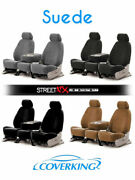 Coverking Suede Custom Seat Covers For 1996-2011 Chevrolet Express 1500