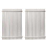 2 Piece Stainless Steel Replacement Weber Cooking Grate 9930 For Summit 400 600