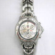 Free Shipping Pre-owned Tag Heuer Cg1117 Cell Series Mclaren Mercedes 98
