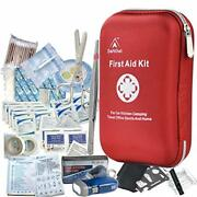 First Aid Emergency Equipment Kit Medical Grade Portable Waterproof 163 Piece