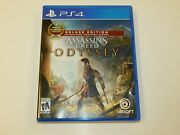 Playstation 4 Assassins Creed Odyssey Deluxe Edition Ps4