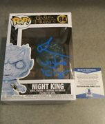 Richard Brake Game Of Thrones Night King Signed Autographed Funko Pop 84 Beckett