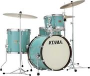 Tama S.l.p. Fat Spruce 3-piece Shell Pack - 20 Bass Drum - Turquoise