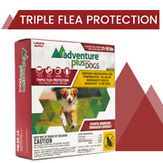 Adventure Plus For Dogs, Triple Flea Protection, Large 21-55 Lbs 4 Dose