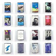 Build Ur Own Cassette Tape Lot - New Wave The Cure Smiths New Order + More