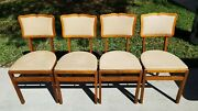 Vintage Stakmore Folding Table And Chairs