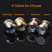 2pcs Brass 260 Degree Wide Angle Home Security Door Viewers Peephole For 4159mm