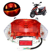 Motorbike 12v Rear Tail Light For 49cc 50cc Chinese Gy6 Scooters Moped