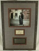 Charles Chaplin ''the Tramp'' Silent Film Era Icon Autograph Jsa Authenticated