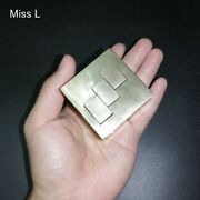 Collection Pure Brass Metal 3d Puzzle Game Copper Puzzle Model Hobby Mind Toy