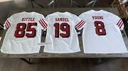 Sf 49ers Color Rush Limited Nike Jersey Sanders Young Rice Sherman Kittle Deebo