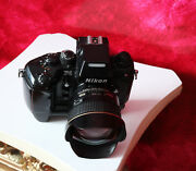Nikon F4 Camera With 14mm Ultra Wide Angle Lens