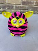 2012 Hasbro - Electronic - Furby Boom - Pink And Black Straight Stripes