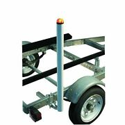 C.e. Smith 5and039 Above Trailer Led Light Post Boat Guide-ons With Hardware And Wiring