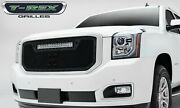 T-rex Grille Grills 6311691-br Black Torch Series Led Light Grille Grill
