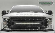 6315371 Black Main Grille W/ Camera Hole W/ 1 30 In. Led Light Bar T-rex