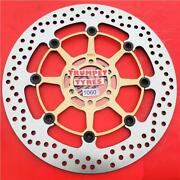 Yamaha 250 Tzr R 87 - 96 Ng Front Brake Disc Genuine Eo Quality Upgrade 1060