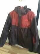 New Balance Dryvent Removable Hood Waterproof Wind Jacket Men's Small